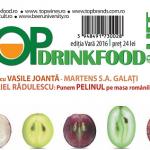 REVISTA TOP DRINKFOOD&LIFESTYLE ediția de Vară 2016 a apărut!/Apare o nouă piață de desfacere