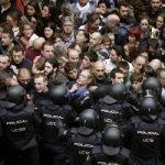 Referendumul din Catalonia: 884 de răniți și 90% dintre votanți vor independență (UPDATE)